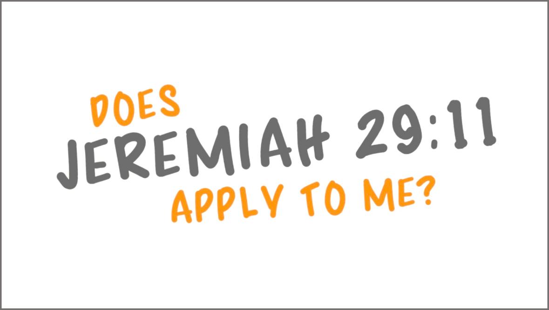 Jeremiah 29.11